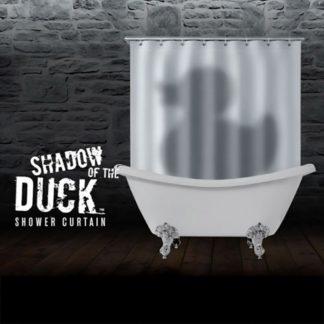 Rubber Ducky Shadow Shower Curtain