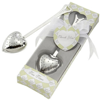 Tea Time Heart Shaped Tea Infuser