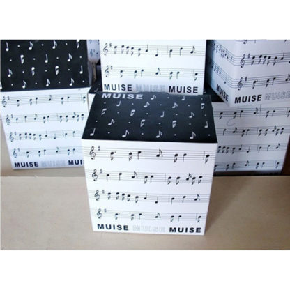 Musician Coffee Mug Musical Notes Design Box