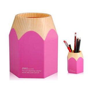 Big Pencil Pen Holder (Pink)