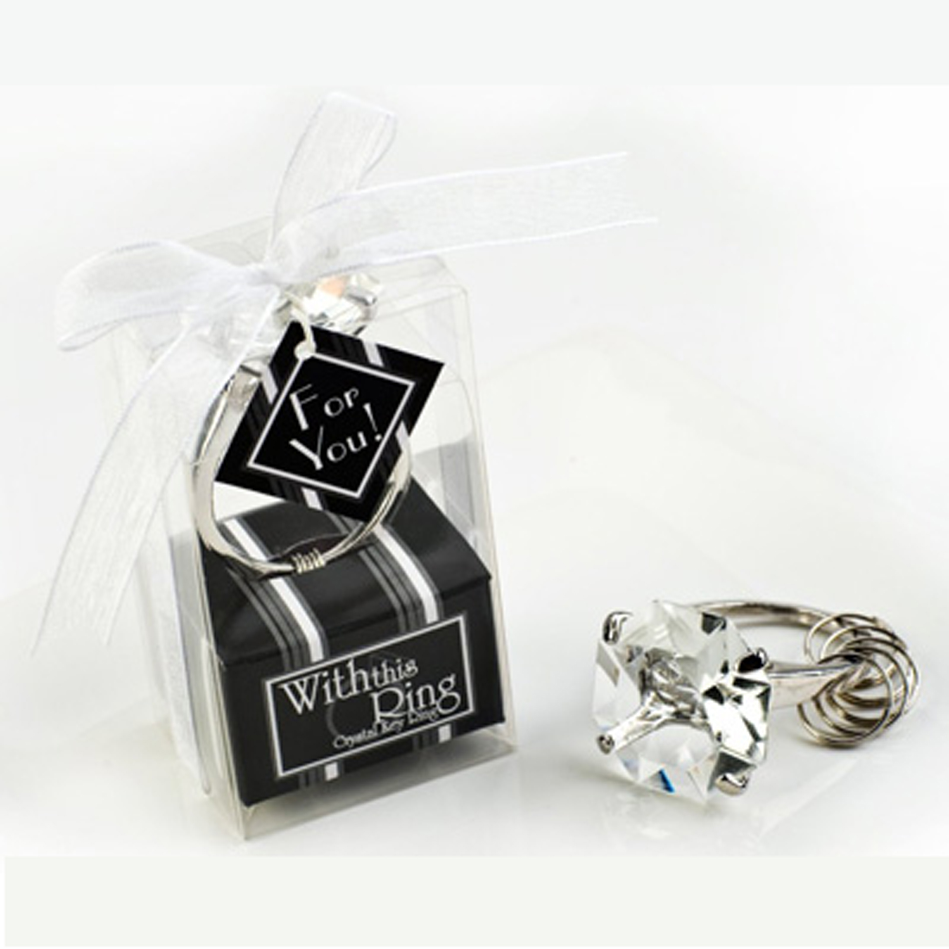 Diamond Ring Keyring-Wedding Favor Bridal Shower – Volps